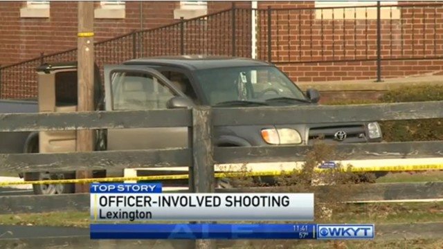 Officers Shoot Man Who Drove at Them