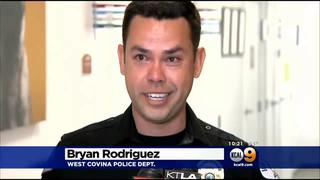Police Dog Returns Home After Being Shot