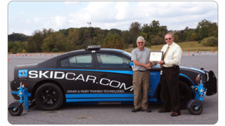 SKIDCAR System, Inc. Receives the 2014 Z-Man Achievement Award from ALERT International