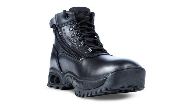 8003ALWP - Mid Side Zip All Leather Waterproof