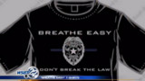 Indiana Officer Selling 'Breathe Easy' T-Shirt