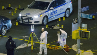 NYPD: Cop-Killer Told Bystanders to Watch