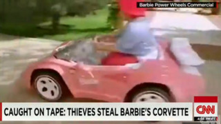 Watch Thieves Steal Barbie's Corvette
