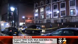 Suspect With Knife Killy by NYPD Officer