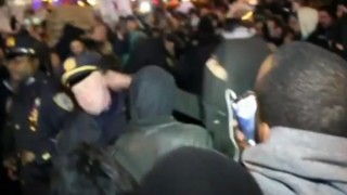 Video Shows Protester Punch NYPD Officer