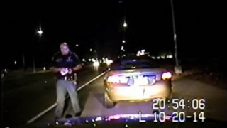 Video: Texas Officer Wounded in Drive-By