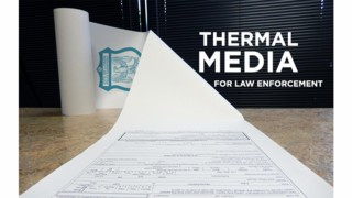 L-Tron's Upgraded Thermal Media Paper for Law Enforcement