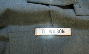 Cop to be Disciplined Over Wilson Name Tag