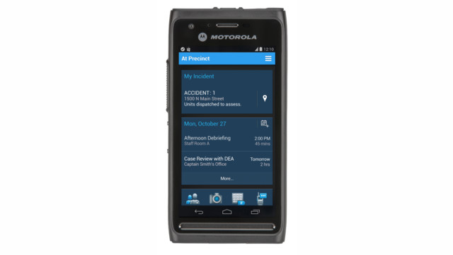 LEXL10 Mission-Critical Handheld Device