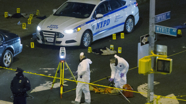 Reaction to Slayings of Two NYPD Officers