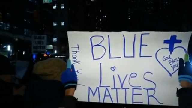 Rallies in Philly, NYC Held in Support of Police