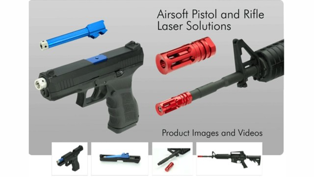Laser Ammo Introduces Airsoft Laser Training Solutions