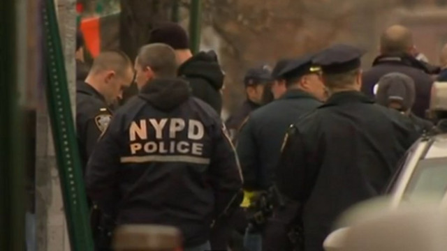 Raw: Two NYPD Officers Killed in Ambush Attack