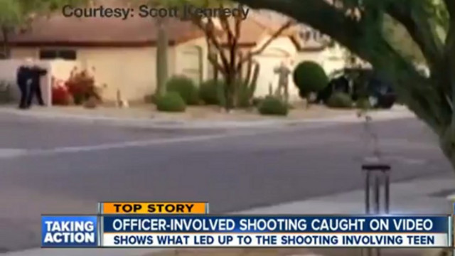 Officer-Involved Shooting Caught on Video