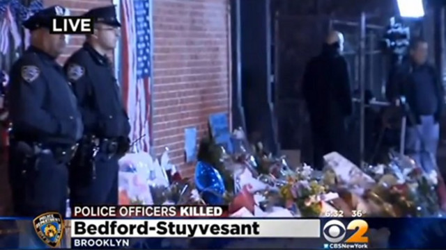 Tributes Pour In for Slain NYPD Officers