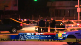 Baltimore Officer Wounded During Traffic Stop