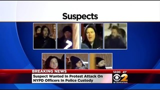 Suspect In Attack on NYPD Officers In Custody