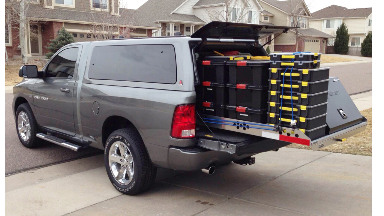 Pickup Truck Roller Coaster Slide Out Cargo Tray 4 000