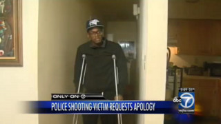 Man Shot by D.C. Police Wants Apology
