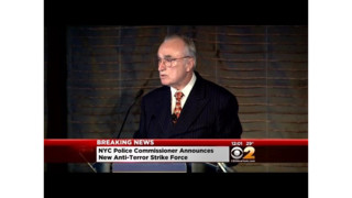 Bratton Unveils Plans For New Anti-Terror Police Unit