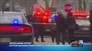 Michigan Police Officer Wounded by Suspect