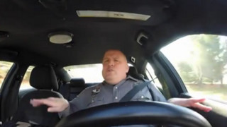 Delaware Officer Sings Behind Wheel