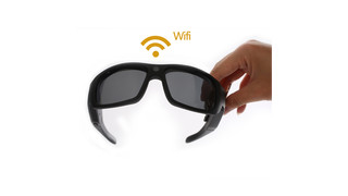 DutyPOV Video Sunglasses w Wi Fi