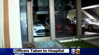 Four LAPD Officers Rescue Suicidal Man
