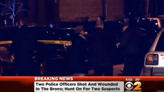 Manhunt On for Suspects Who Shot NYPD Officers