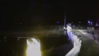 Raw: Texas Driver Saved From Submerged Car