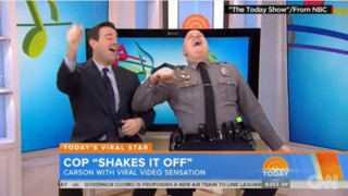 Viral 'Shake It Off' Cop Strikes Again