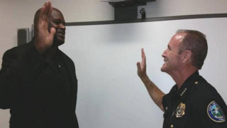 Shaq Sworn in as Officer in South Florida