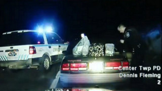 Video: Handcuffed Woman Steals Police Car