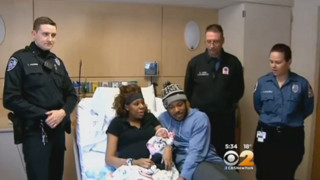New Jersey Officer Helps Deliver Baby
