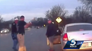 Dashcam Shows Officers Take Down Driver