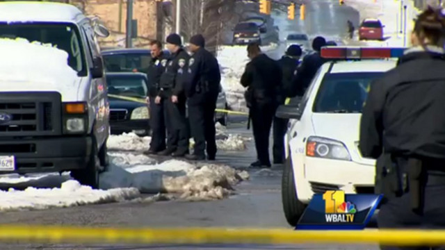 Baltimore Police: Suspect Charged Officer
