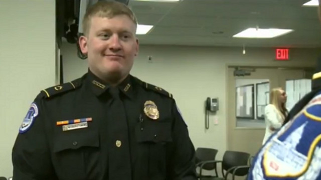 Capitol Police Officer Credited With Saving Life