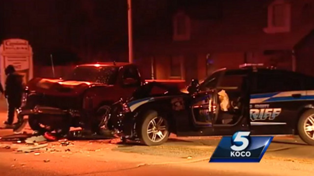 Suspected Drunk Driver Slams Into Deputy's Vehicle