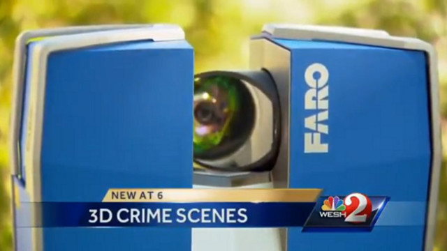 Florida Police Use 3D Crime Scene Technology