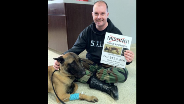 Ohio K-9 Found Safe After Two Months
