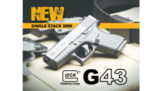 GT Distributors Announces G43 Single Stack 9MM