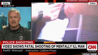 Trainer Talks About Dallas Police Shooting Video