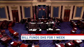 Congress OKs One-Week Bill to Keep DHS Open