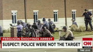 Ferguson Suspect: Police Not the Target
