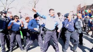 Video: Kansas City Police Flash Mob