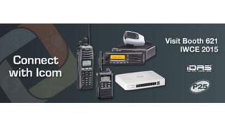 Icom Announces New Digital Land Mobile Radios at IWCE 2015