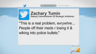 NYPD Deputy Commissioner's Tweet Draws Ire