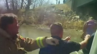 Body Cam Captures Utah Toddler Rescue