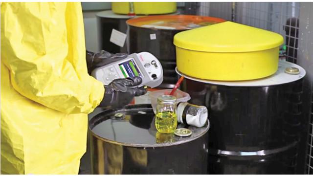 Gemini Handheld Analyzer - FTIR and Raman Spectroscopy