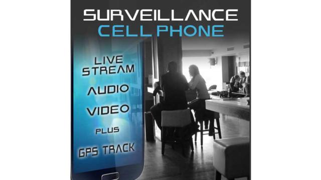 Surveillance Cell Phone - Live Stream Audio & Video